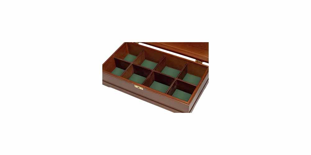 Деревянная шкатулка для чая 3